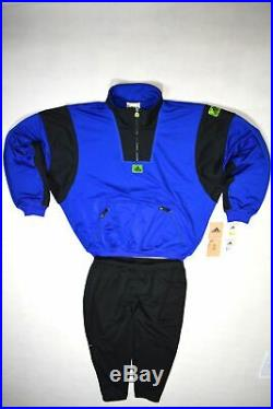 Adidas Equipment Trainings Sport Anzug Track Jump Suit Vintage Deadstock 90s XL
