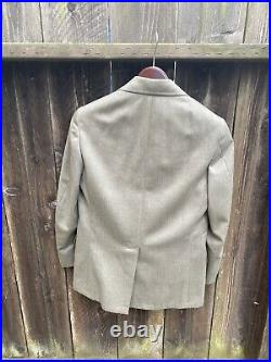 Amazing Vintage Brooks Brothers 3-Piece Suit 3/2 Roll. Perfect Condition. 37 R