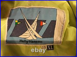 Helly Hansen VINTAGE Foul Weather Protective Full Suit Outdoors Men's size XL