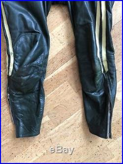 Lewis Leathers Vintage 1960s Motorcycle Racing Suit All In One Rare mens small