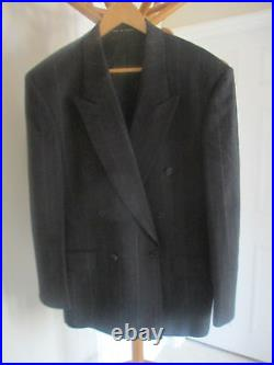 Mens PAUL SMITH AT CUE BY AUSTIN REED VINTAGE DOUBLE BREASTED WOOLMARK SUIT 38R