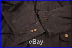 Mens Vintage Barbour 1980s A7 International Suit Waxed Jacket Large 44 XR 9466