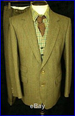 New Mens Vtg Country Hunting Shooting Suit Sz 40 medium, 34 W 29 L