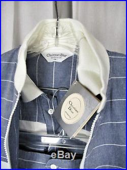 New with Tags Old Stock Vintage 70s Christian Dior Monsieur Mens Beach Suit Med