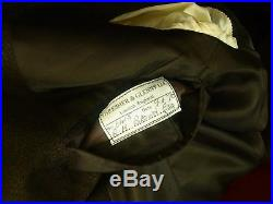 Rare Mens Vintage Thresher & Glenny Bespoke Suit Thornproof Tweed Style 38 small
