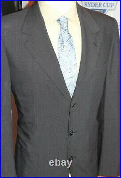 Roman Style by Brioni Suit Wool & Silk Made in Italy Vintage 40 R
