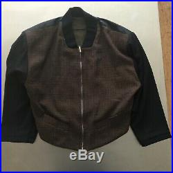 Stunning Jean-Paul Gaultier mid-80s vintage Suit with reversible jacket M/L