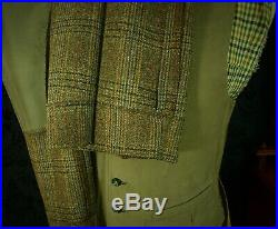 Superb Mens Vintage Tweed Hebden Cord Country Suit Trousers Jacket 40 42 40W 30L