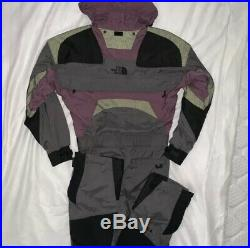The North Face Vintage Mens Gore Tex Size Small Snowsuit Ski Suit Full Body