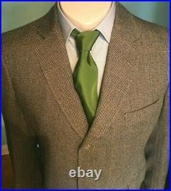 True Vintage Savile Row Suit Men's Town & Country by Davies & Sons Med 40