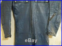 VINTAGE 70's LEWIS LEATHERS AVIAKIT MOTORCYCLE SUIT SIZE 38