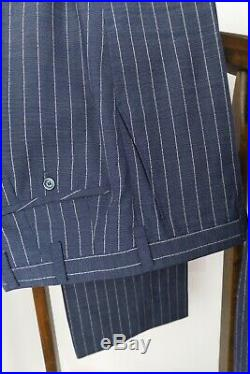 VINTAGE Custom Tailored 1960s 50s SharkskinWOOL Mens Suit38S 38 S 32x29 MADMEN