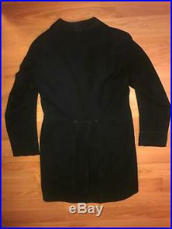 VTG 1900s BROOKS BROTHER VICTORIAN MENS WOOL LONG TAILS TUXEDO JACKET PANTS SUIT