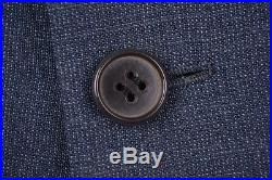 VTG 1962 Chester Barrie Savile Row Blue Woven Wool 2pc Suit Jacket Pants 40 R