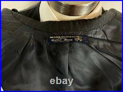 VTG 70s Brooks Brothers Golden Fleece 44L 3pc 3 roll 2 gray wool suit 34 x 32