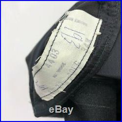 VTG Brooks Brothers Mens Flannel Wool 3/2 Roll Suit Charcoal Black 40R 34x33
