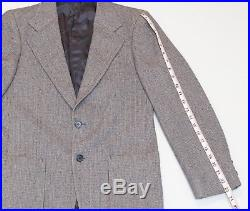Vintage 1970's Yves St Laurent YSL 3 Piece Suit Mens Beautiful 36R Must See