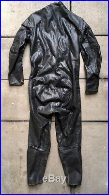 Vintage 60's Lewis Leathers Aviakit Racing Leathers Motorcycle Racing Suit