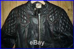 Vintage 60's Motorcycle Motorbike Leathers Racing Suit bought at Lewis Leathers