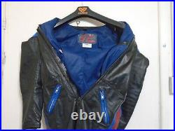 Vintage 80's Tt Leathers Motorcycle Racing Suit Size 38