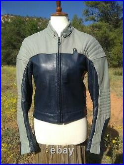 Vintage 80s BMW Cafe Racer Nappa Leather Jacket + Pants Suit, Sz Small / 38