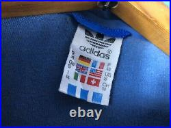 Vintage Adidas Made In West-Germany Jumpsuit size S authentic ski suit Jacket Pa