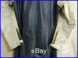 Vintage Distressed 70's Aviakit Lewis Leathers Motorcycle Racing Suit Size 36 XS