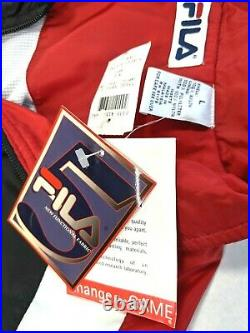 Vintage FILA Track Suit Jacket / Pants Set Size L NEW with tags Deadstock