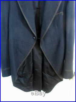 Vintage J. Press Tuxedo Tailcoat Jacket Dated 1928 Mens Small Approx 36 EUC