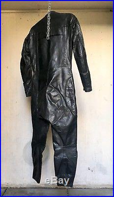 Vintage Lewis Leathers Aviakit Racing Leathers Motorcycle Racing Suit Size 40