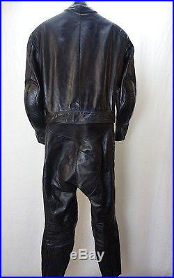 Vintage Modeka Motorcycle Leather 2 piece racing suit 40 EU50 KB252