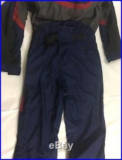 Vintage The North Face Extreme One Piece Snow Ski Suit With Hood Mens Large
