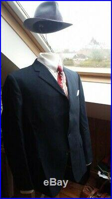 Vintage mens suit, 2 piece English made Excellent condition 1950s, Size 40 to 42