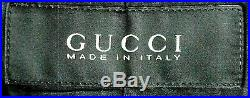 Vtg 1990s Mens Gucci Design By Tom Ford 100% Leather Suit Style Jacket Coat 38r