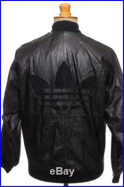 Vtg 80's Adidas A17 Leather Track Suits Jacket And Pants Run DMC S Collector's