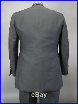Vtg Otto Perl Tuxedo Suit Bespoke Hand Made Double Breasted 42R Jacket & Pants