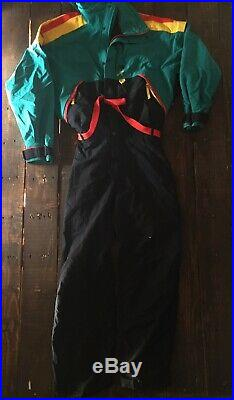 Vtg The North Face Snow Suit Goretex Vertical One Piece 80s 90s Trans Expedition